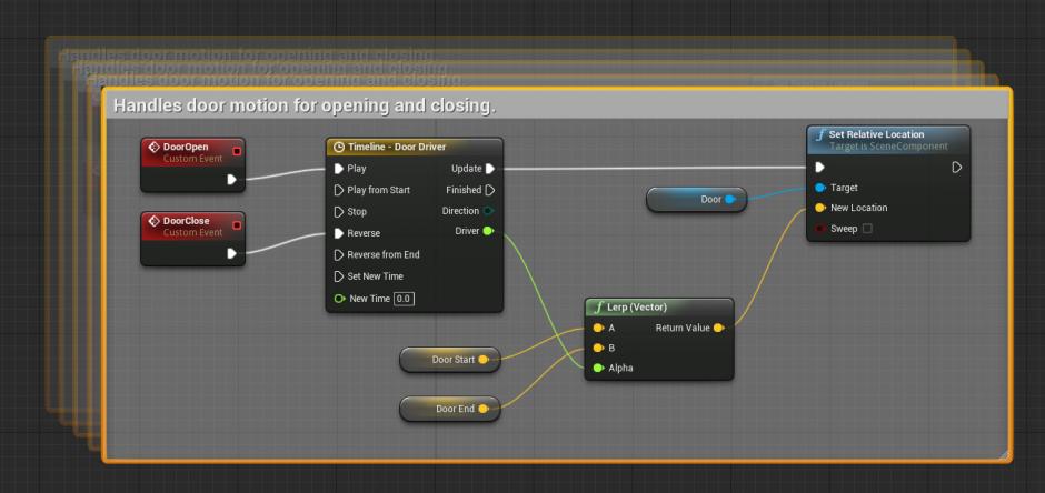 Blueprint automated door tutorial epic wiki commentmoving dtg malvernweather Choice Image