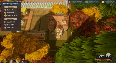 Town Building - Placing House
