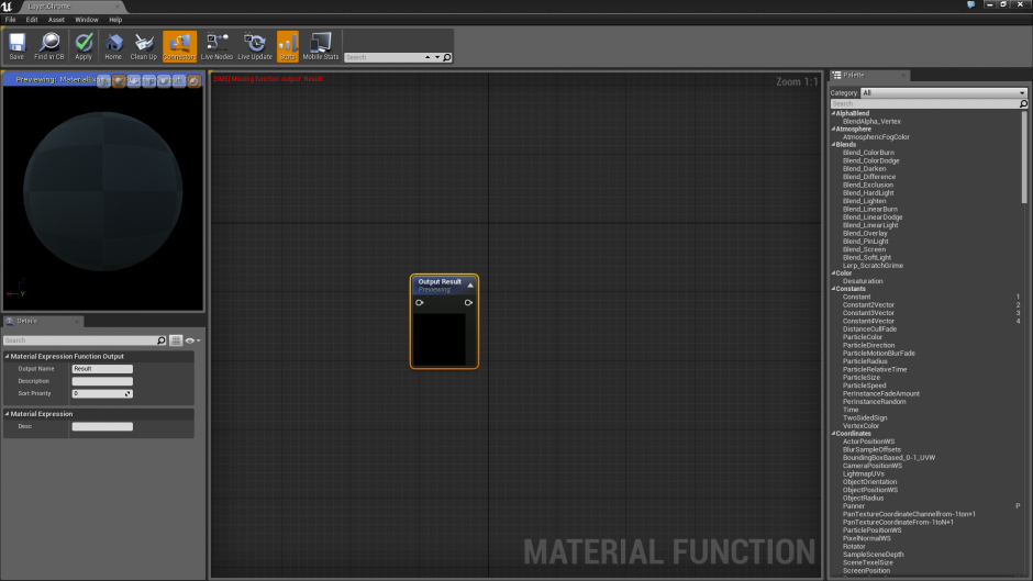 how to make nodes into function unreal engine