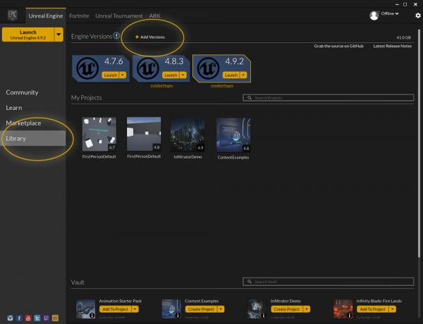 Unreal engine 4 academic installation epic wiki defaultaddengineg malvernweather Choice Image