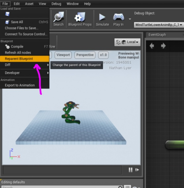 Animation blueprint set custom variables via c epic wiki reparentbpg malvernweather Images